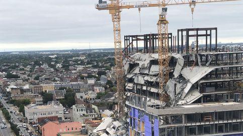 Al menos un muerto y 18 heridos al caer la fachada de un hotel en EEUU