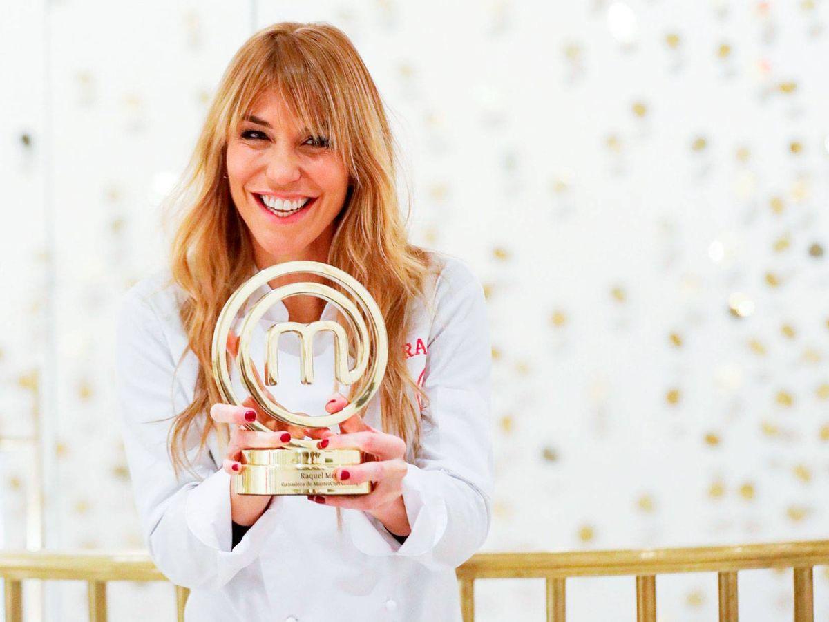 Foto: Raquel Meroño, ganadora de 'MasterChef Celebrity'. (EFE)
