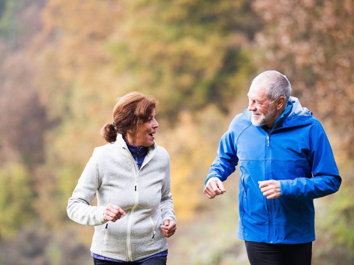 Foto: El deporte más importante que la dieta para alargar la esperanza de vida (iStock)