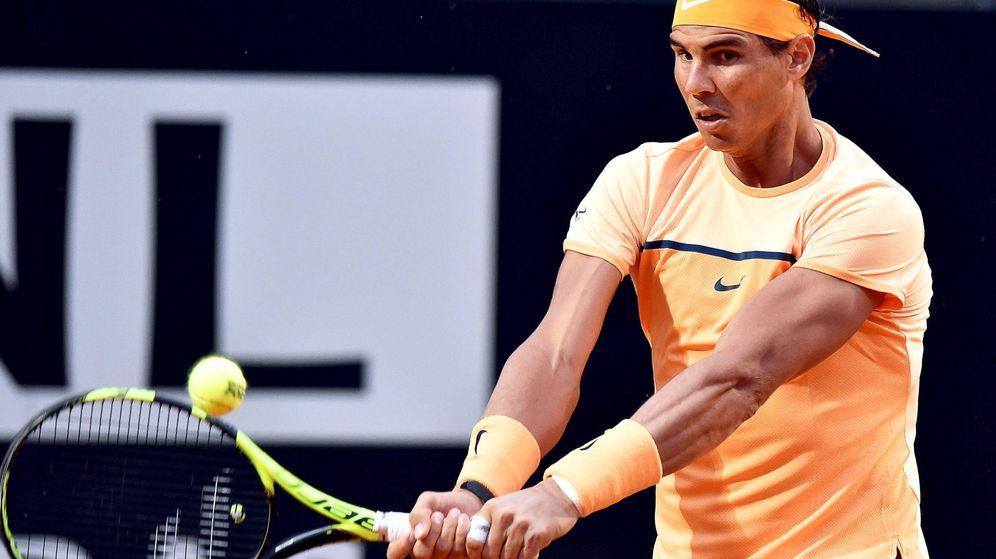 Foto: El año pasado, Nadal llegó a cuartos de final en Roma (Ettore Ferrari/EFE)