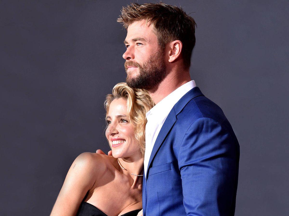 Foto: Elsa Pataky y Chris Hemsworth, en una imagen de archivo. (Getty)