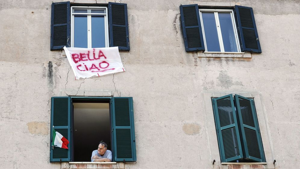 Foto: 75th anniversary of italy's liberation