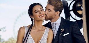Post de Pilar Rubio y Sergio Ramos comparten la primera foto 'oficial' de su boda