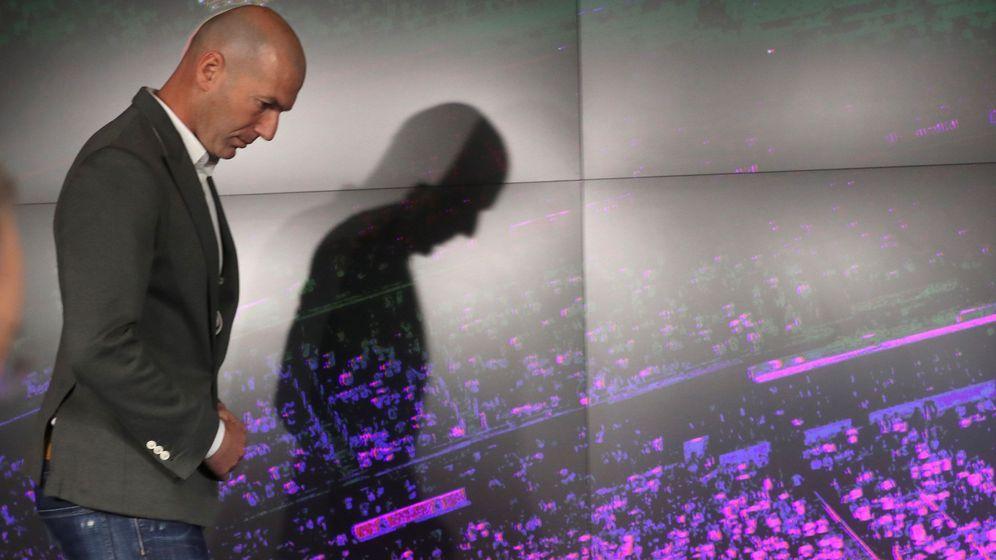 Foto: El Real Madrid hace oficial el regreso de Zidane. (EFE)