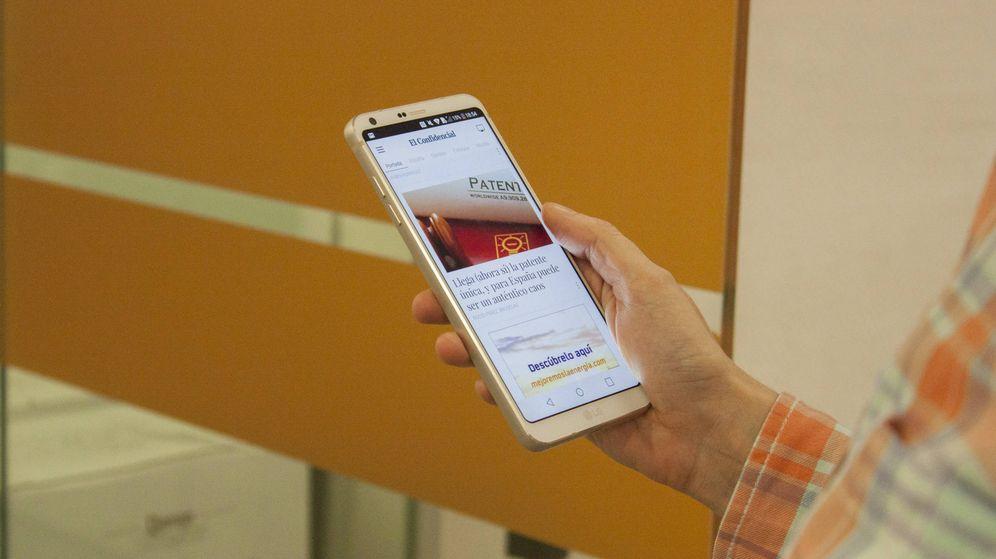 Foto: Probamos el nuevo LG G6: te vas a enamorar de esta pantalla. (Foto: Enrique Villarino)