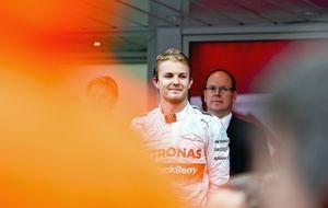 Cómo Rosberg le robó la cartera a  Hamilton en  el GP de Mónaco