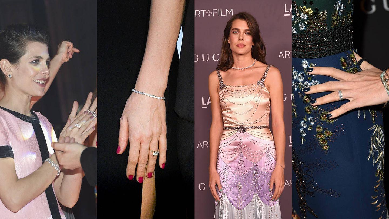 Las manicuras de Carlota Casiraghi. (Getty)