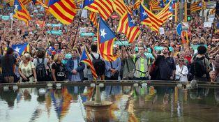 El daño del conflicto en Cataluña