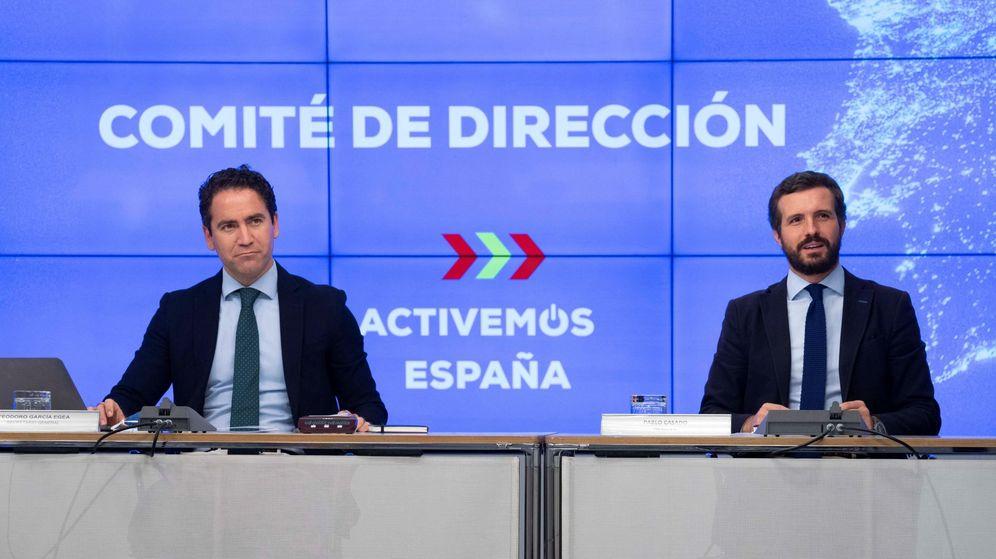 Foto: Reunión del comité de dirección del PP.
