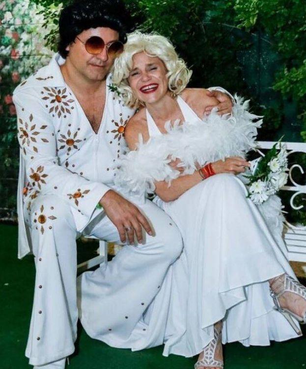 Foto: Narcís Rebollo y Eugenia en Las Vegas. (Instagram)