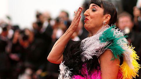 El look 'con conchas' de Rossy de Palma en el desfile de Gaultier