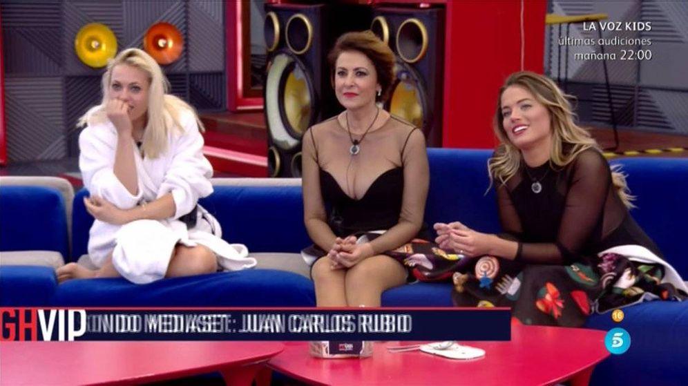 Foto: Daniela Blume, Irma Soriano y Alyson Eckmann, finalistas de 'GH VIP 5'.