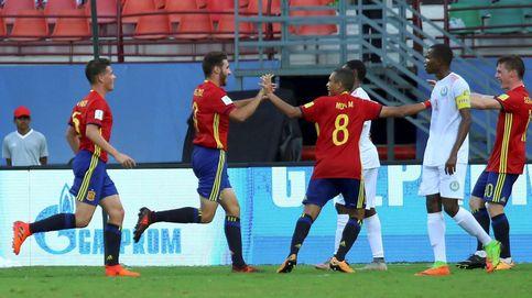 España no tiene piedad y aplasta a Níger en el Mundial Sub 17