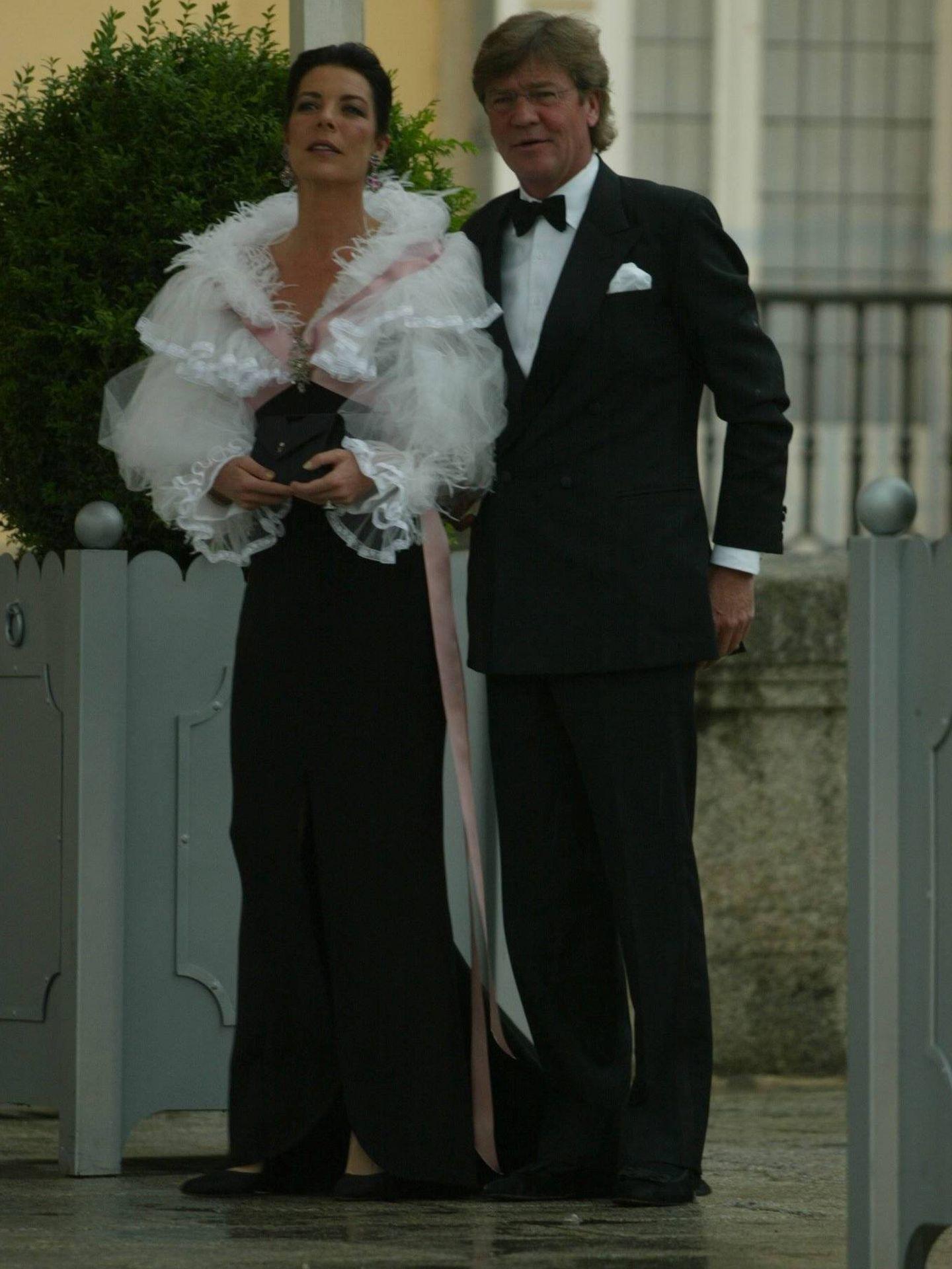 Carolina de Mónaco con su marido, Ernesto de Hannover. (CP)