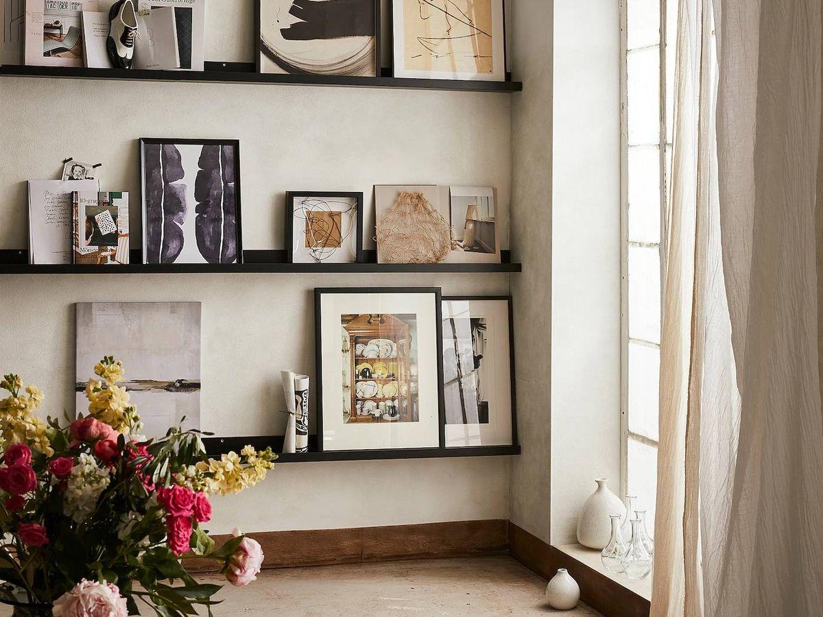Foto: Una nueva vida para este estante de Ikea. (Cortesía)