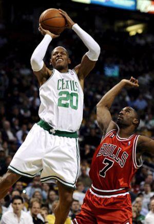 Ray Allen salva a los Celtics con un triple milagroso y empatan la serie