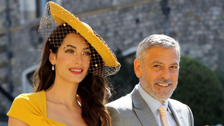 Los Clooney. (Reuters)