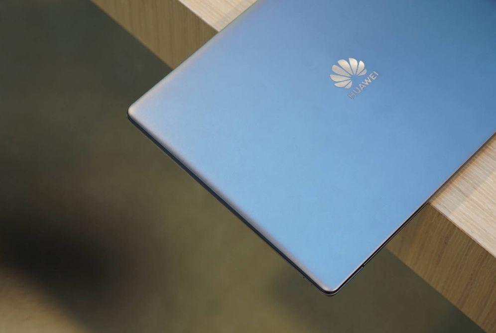 Foto: El Huawei MateBook 13, uno de los ordenadores destacados del CES. (M.Mcloughlin)