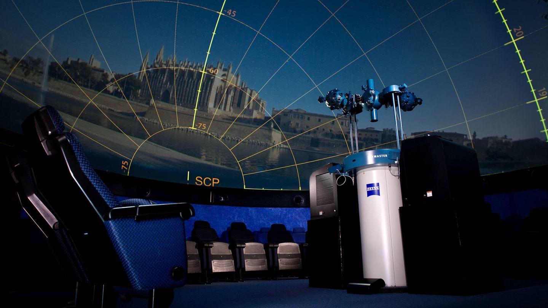 El interior del Planetario, todo aquí está en venta (OAM)