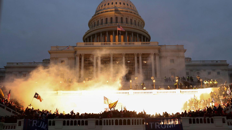 Imagen de los sucesos de este miércoles. (Reuters)