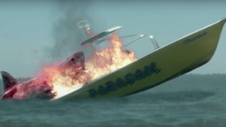 Películas: Escualos a gogó: de Tiburón a Sharknado 4 pasando