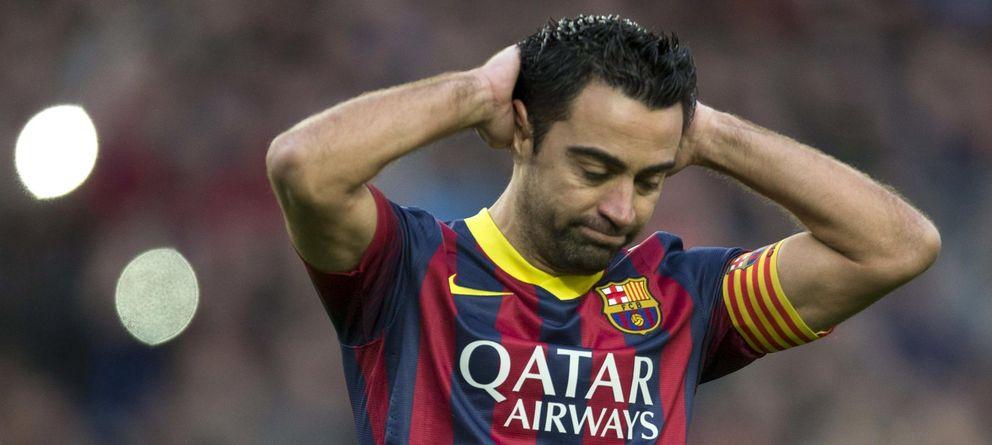 Foto: Xavi ha dado marcha atrás ha decidido seguir un año más en el Barcelona (EFE)