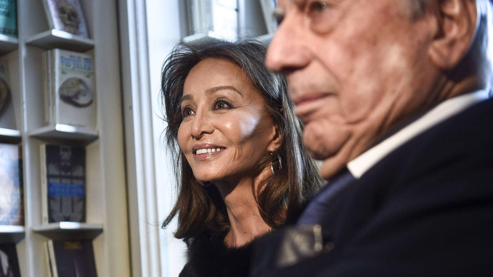 Foto:  Isabel Presyler y Vargas Llosa, en una imagen de archivo. (Gtres)