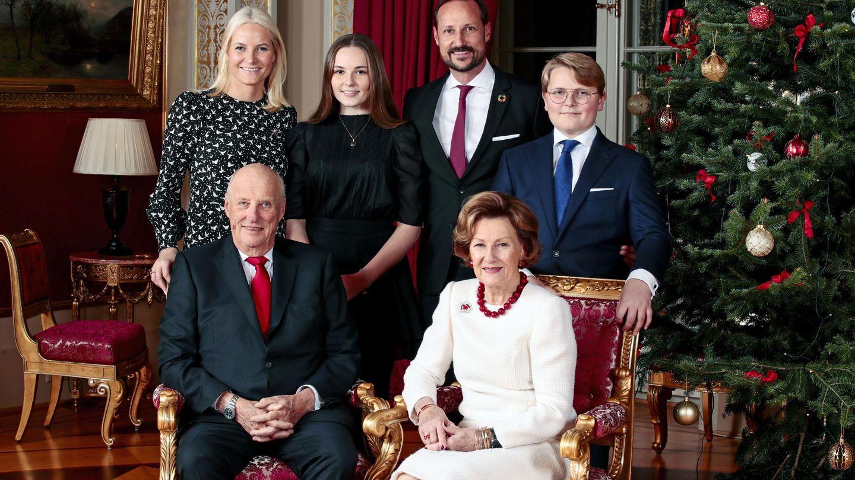 La familia real, las pasadas navidades. (EFE)