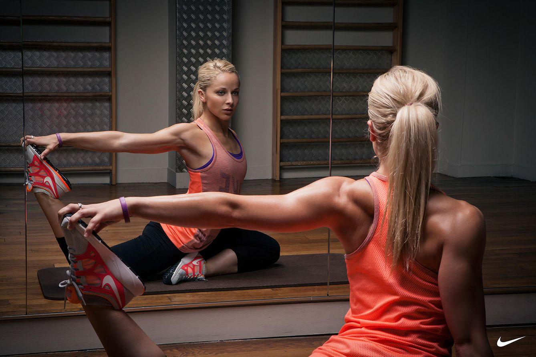 Foto: Primer paso, ejercicio; segundo, tratamiento; tercero, bisturí (Foto: Nike)