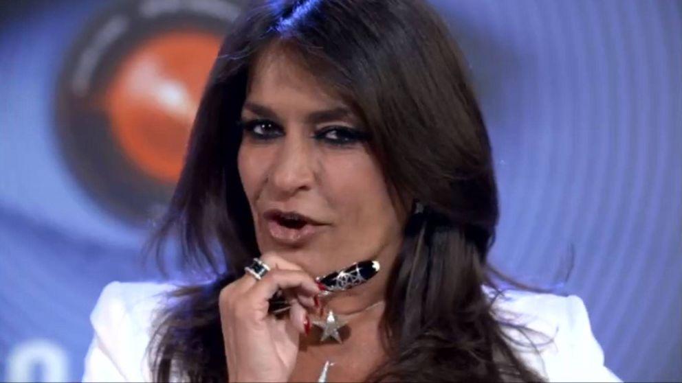 Primeras declaraciones de Aida Nízar antes de entrar en el 'GH' italiano
