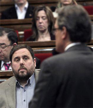 """Foto: ERC prepara una campaña anti-Madrid aunque """"rompa la legalidad española"""""""