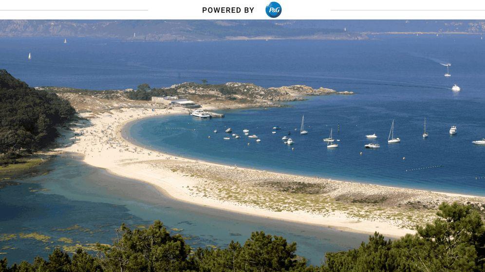 Foto: Playa de Rodas de las Islas Cíes. (Foto: Javier Albertos)