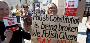 Post de División en el Gobierno de Polonia tras el veto del presidente a la 'toma' judicial