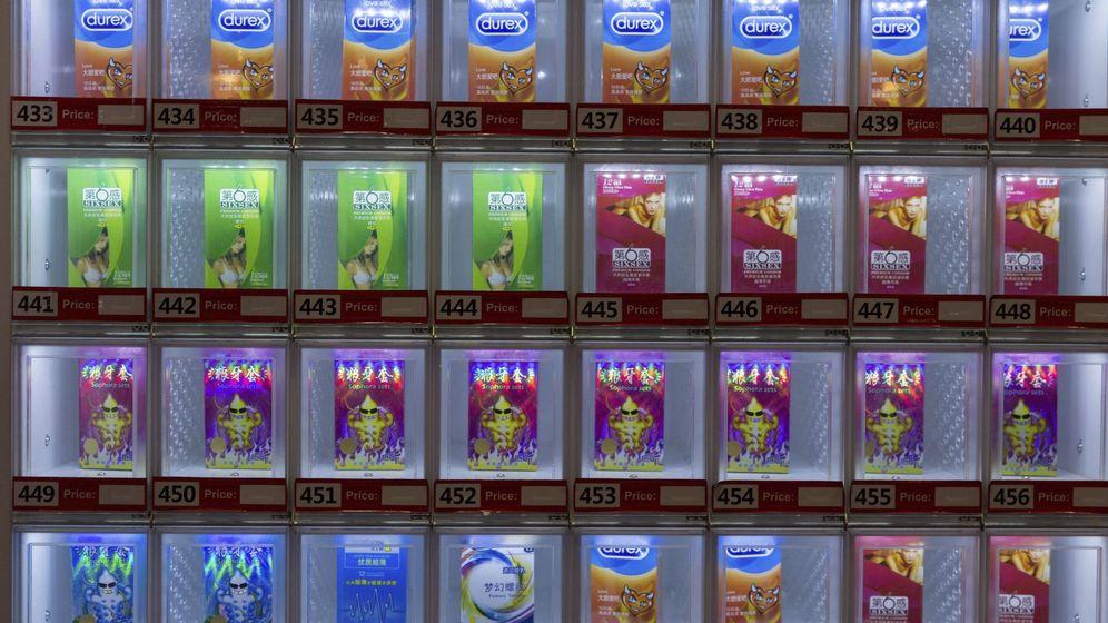 Foto: Máquina expendedora de preservativos. (EFE)