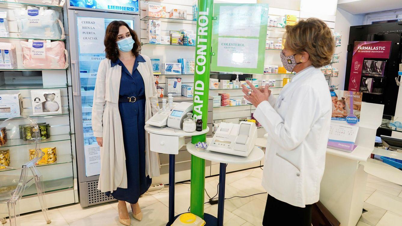 Las farmacias de Madrid pasarán a ser puntos para los cribados de covid-19 el 1 de febrero