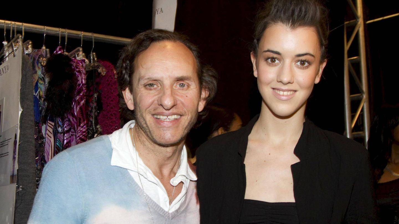 Custo Dalmau y su hija Carlota, en Nueva York. (EFE/Miguel Rajmil)
