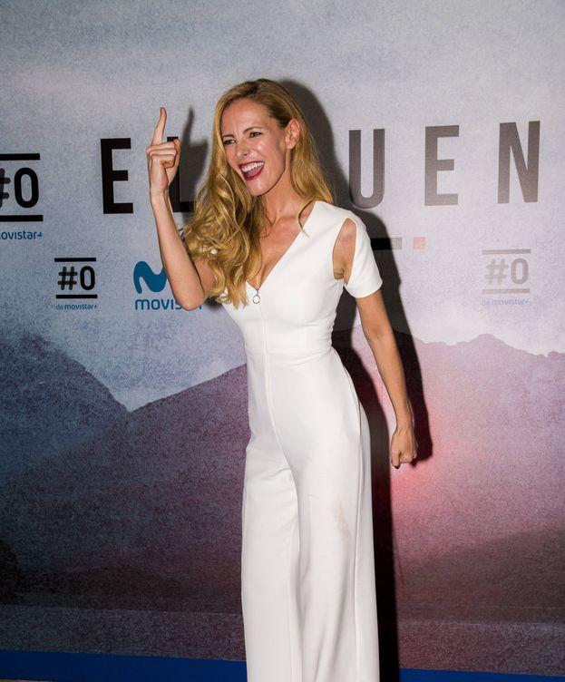 Foto: La presentadora Paula Vázquez en el estreno de 'El puente'. (Gtres)