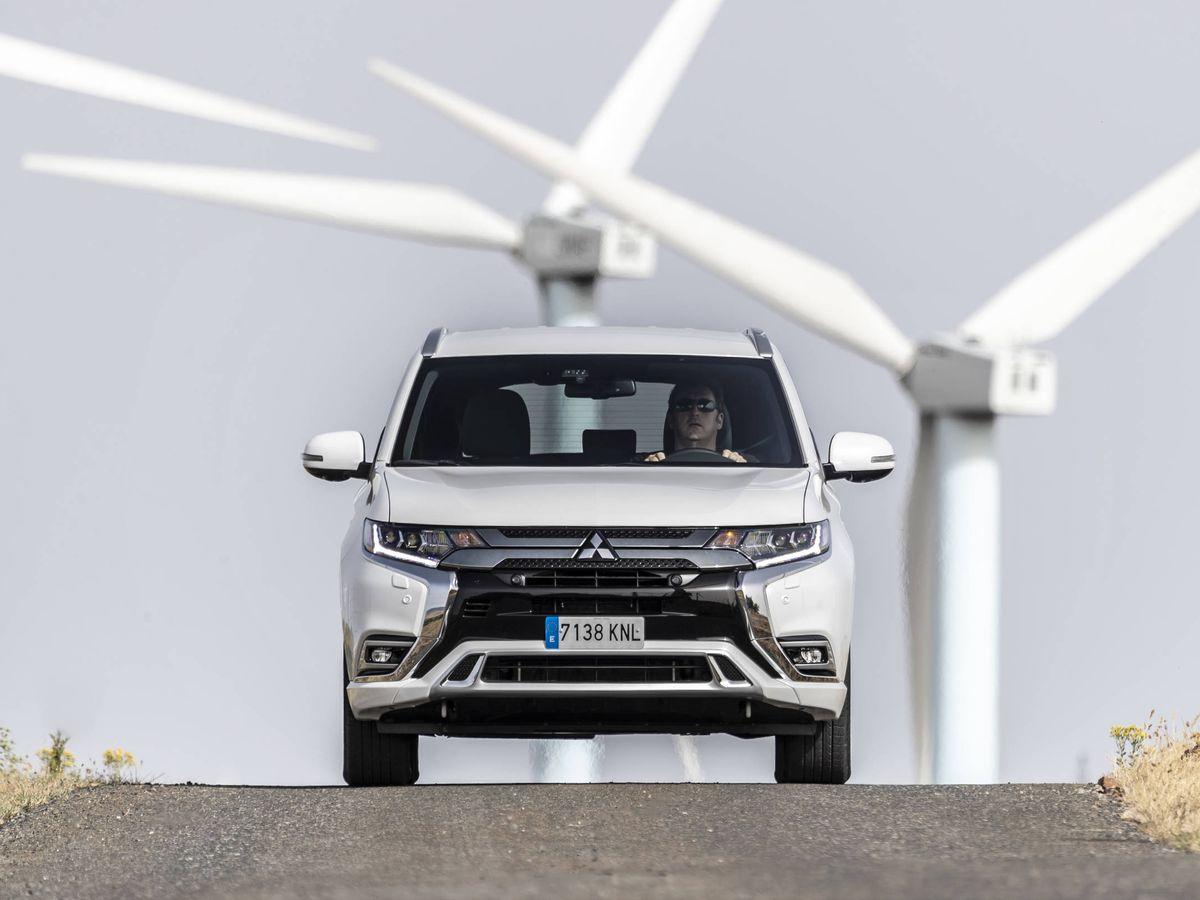 Foto: Mitsubishi Outlander PHEV, un todocamino muy ecológico