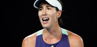 Post de Garbiñe Muguruza se estampa contra un muro y pierde la final del Open de Australia
