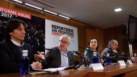 RSF alerta de un creciente odio contra la prensa en las democracias occidentales