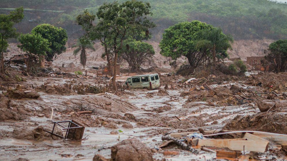 Foto: El municipio de Bento Rodriguez, el más afectado por el alud de barro. (Foto: Pedro Serra)