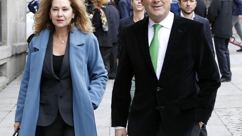 Ana María Rodríguez y José Bono, el pasado 11 de abril. (Gtres)