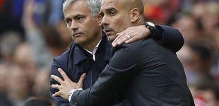 Post de Guardiola regresa a Old Trafford y Mourinho no puede ni salir de su hotel