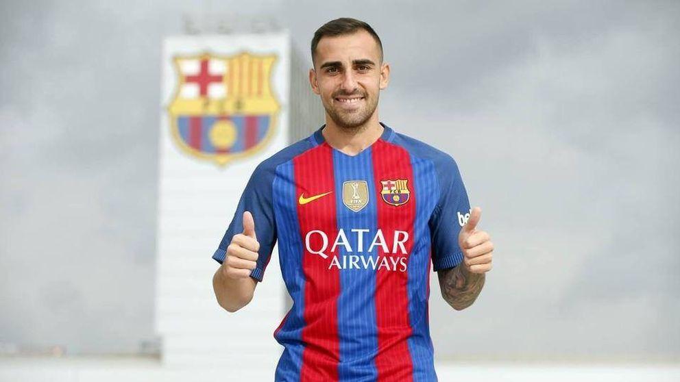 Alcácer es nuevo jugador del Barcelona y Munir jugará cedido en el Valencia