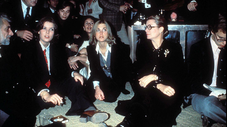 Con Grace Kelly y el príncipe Alberto.