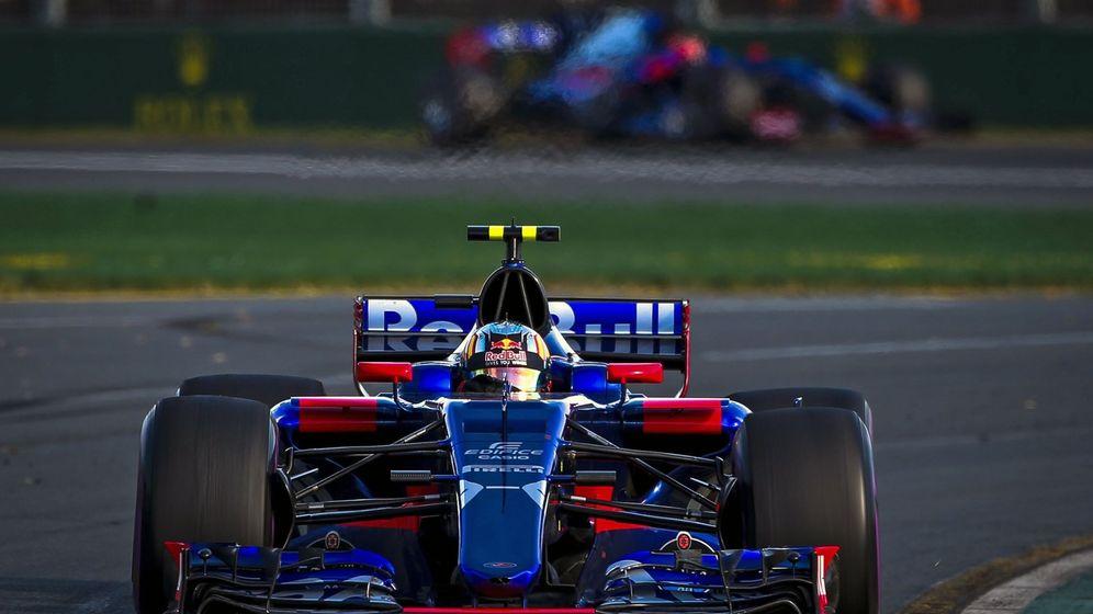 Foto: Sainz, en el Gran Premio de Australia. (EFE)