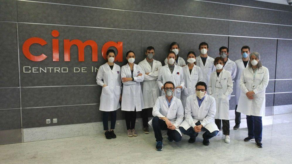 Foto: El equipo de científicos voluntarios del Centro de Investigación Médica Aplicada.