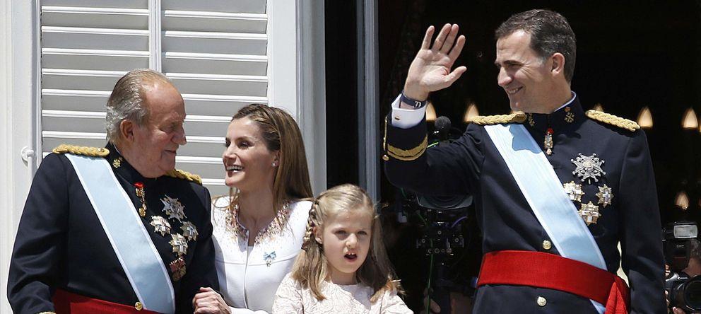 Foto: El Rey Juan Carlos el día de la proclamación de Felipe (Reuters)