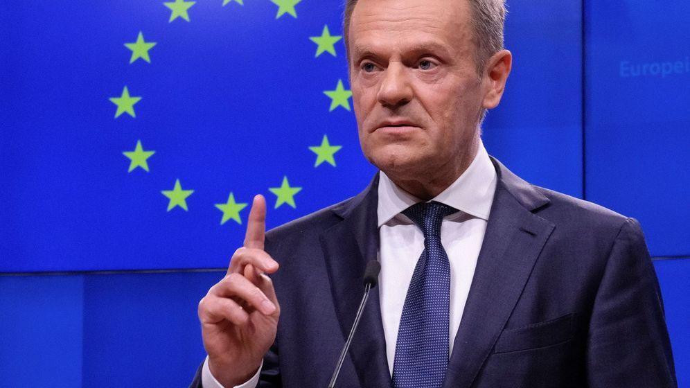 Foto: Donald Tusk, el pasado 5 de marzo en Bruselas. (EFE)