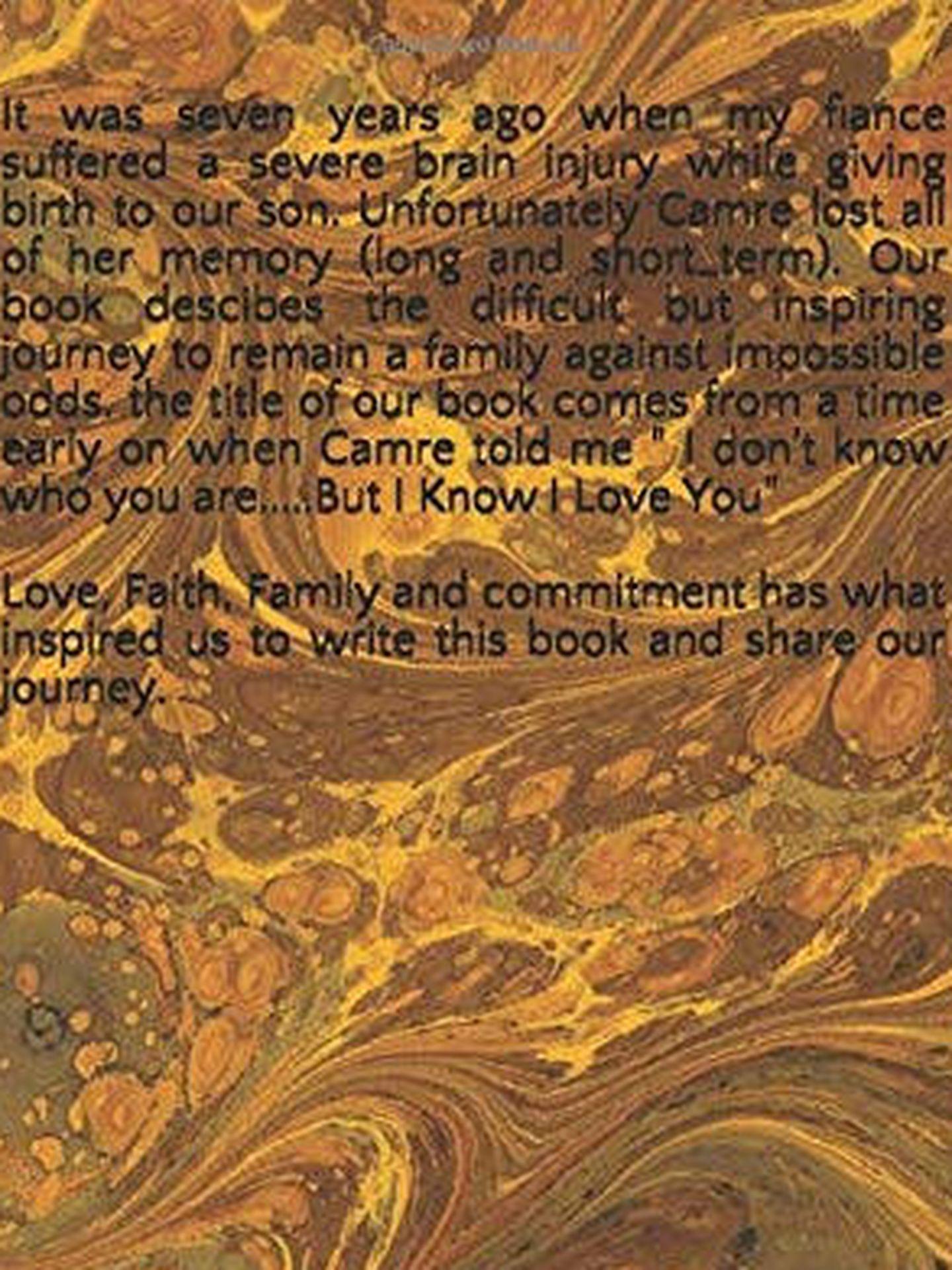 La contraportada del libro 'Pero sé que te quiero' (Foto: Amazon)